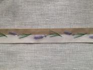 Webband Lavendel acufactum 2 cm breit