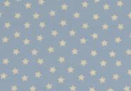 Jersey, weiße Sterne auf hellblauem Hintergrund