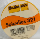 Soluvlies 321, Vlies, weiß, 90 cm breit