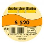 S 520, Vlies, Schabrackenvlies, weiß, 90 cm breit