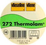 Thermolam 272, Vlies, weiß, ca. 114 cm breit