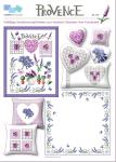 Provence, süße Lavendelmotive u.mehr, in frischem Design für kleine und große Stickarbeiten