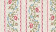 Patchworkstoff, Arbor Rose Border Stripe, 7781 L,Andover,  Makower