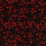 Island Batik, Batik, rot und schwarz, floral