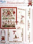 """""""Weihnachtsmarkt"""", Adventskalender, herrliche Motive für kleine und große Stickarbeiten"""