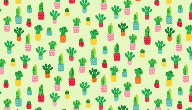 Patchworkstoff, Fruity Cactus, Kaktus,1942 G, makower