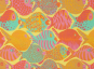 Patchworkstoff, Shoal - Yellow by Brandon Mably for Rowan/PWBM051-Yello