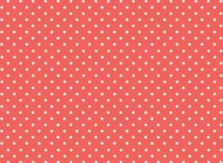 wei e cremefarbene punkte oder p nktchen auf koralle rotem hintergrund spot on coral online. Black Bedroom Furniture Sets. Home Design Ideas