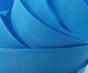 4 Meter Gurtband 4 cm/40 mm breit peppiges blau