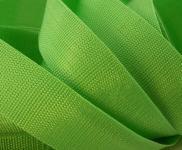 4 Meter Gurtband 4 cm / 40 mm breit grasgrün