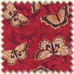 Red Rooster - Kiomy Butterflies red