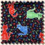 Blank Textiles - Cat Club