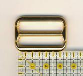 Schnalle 3 cm Gold