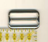 Schnalle 3,5 cm Nickel glänzend