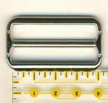 Schnalle 4 cm Oberfl�che gl�nzend aus Palladium - Ohne Nickel