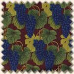 Blank Textiles - Weintrauben blau