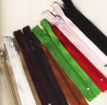 Sparpack 10 Reißverschlüsse Farbenmix, 3mm, 12cm lang