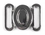 2 Stück Bikini-Verschluss für 14mm Band Metall