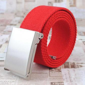 Canvas Gürtel Rot