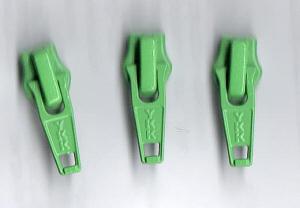 Reissverschluss Schieber apfelgrün für 5mm