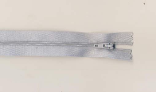 Reißverschluss verylightblue, 3mm, 25cm