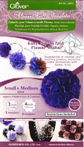 Clover - Schablone Rüschenblume