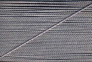 Atlaskordel Silbergrau 2mm