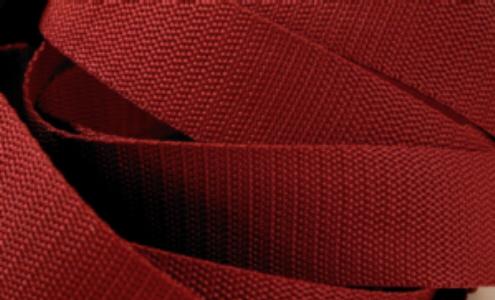 4 Meter Gurtband 3 cm / 30mm breit bordeaux