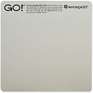 Accu Quilt - AccuQuilt cutting mat 10x10 Inch
