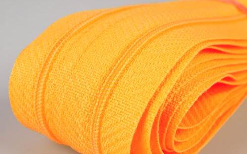 Reißverschluss 18 cm 3mm gelb-orange,