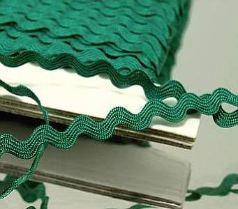 Zackenlitze 6mm Grün