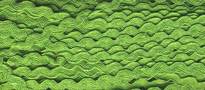 Zackenlitze 9mm Grün