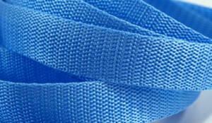 4 Meter Gurtband 3 cm / 30 mm breit - hellblau
