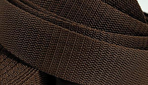 4 Meter Gurtband 3 cm / 30 mm breit dunkel-braun