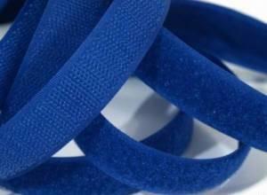 1 Meter Klettverschlussband 2cm breit, dunkelblau