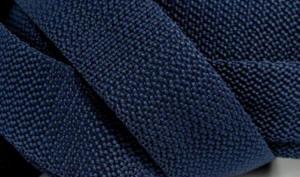 4 Meter Gurtband 4 cm dunkel-Blau