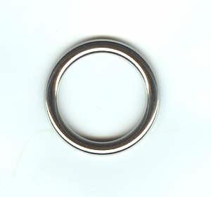 Metallring / Rundring Nickel glänzend 25 mm