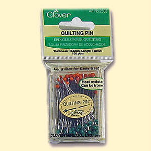 Clover  Quilt Pins Quilt Stecknadeln fein