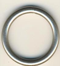 Metallring / Rundring Nickel matt Innendurchmesser 30 mm