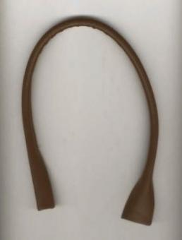 Taschengriffe Dunkelbraun 50cm