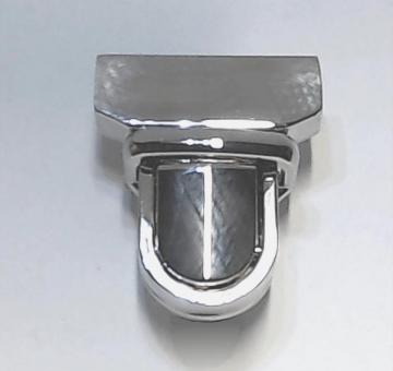 Steckschloss für Taschen 29 mm Nickel
