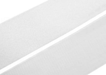 0,5 m Klettband 10cm breit Flausch+Haken weiß