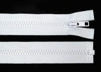 Reißverschluss weiss Kunststoff 5mm 50cm