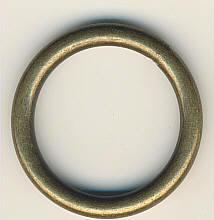 Metallring Altmessing 25 mm