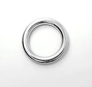 Metallring Nickel glänzend 20 mm