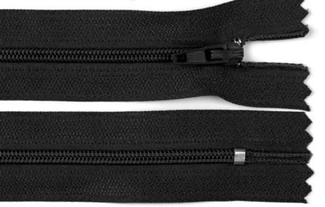 Reißverschluss schwarz, 3mm, 30cm