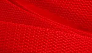 4 Meter Gurtband 2,5 cm / 25 mm breit rot