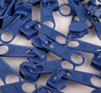 Reissverschluss Schieber royalblau für 5mm