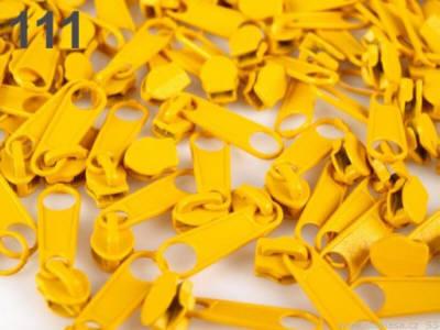 Reissverschluss Schieber mais gelb für 3mm