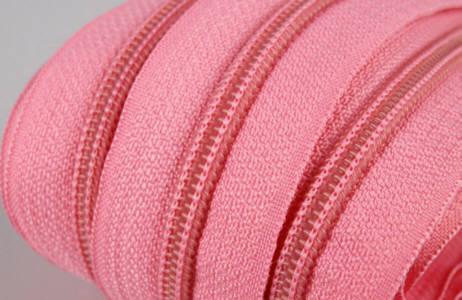 Endlos-Reissverschluss rosa 3mm